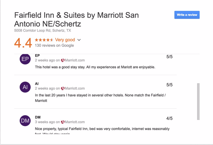 Google Starts Displaying First Party Reviews In Search