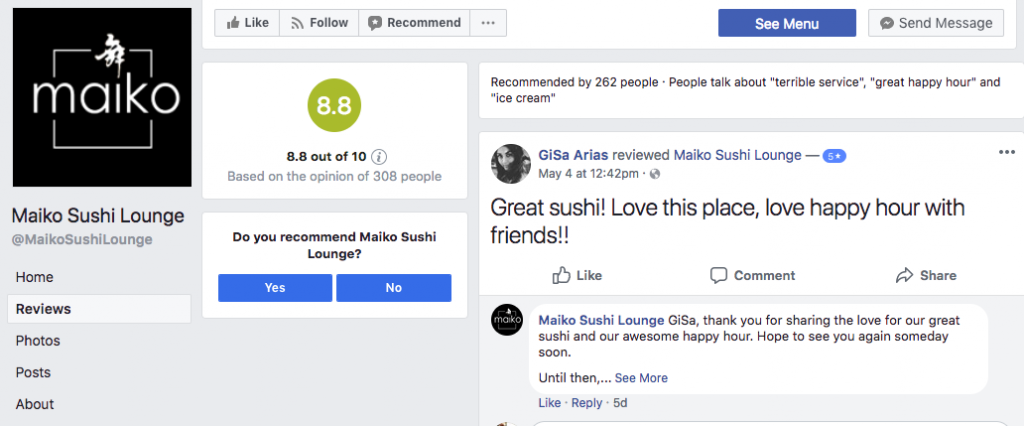 Facebook is Testing a New Rating & Recommendation System