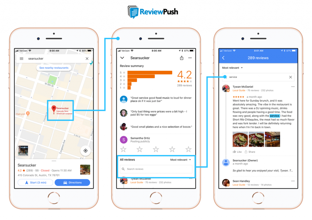 UPDATE: Google Integrates Reviews Into Maps